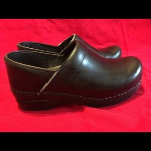 Dansko Black Loafers