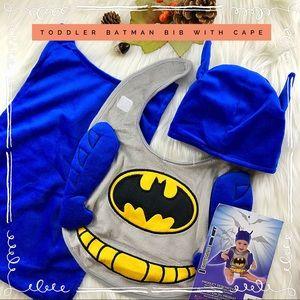 Other - Infant- Toddler Batman Bib & Cape