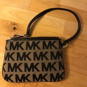 Michael Kors Monogrammed Wristlet