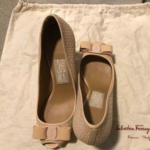 Salvatore Ferragamo Heels. Good condition.