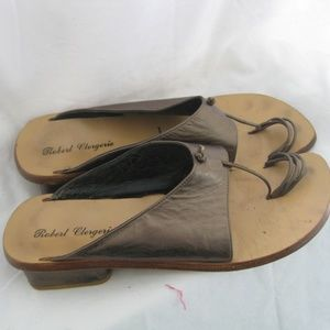 Funky bronze designer sandal