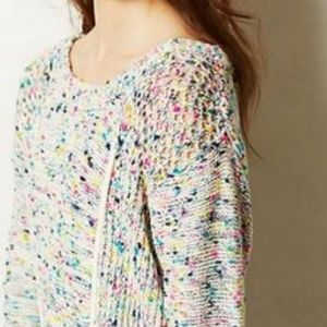Anthropologie Confetti Sweater