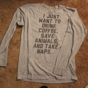 Coffee & Animals Pullover