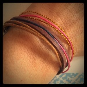Little layered friendship bracelet