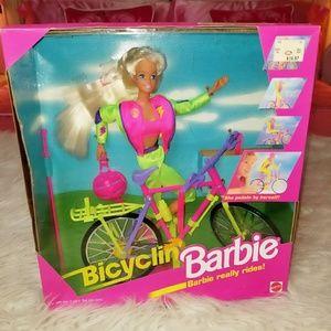 Bicyclin Barbie
