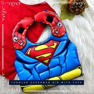 Other - Superman Bib and Cape