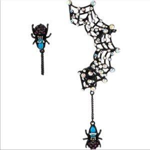 🎃🎃betsey johnson spider earrings