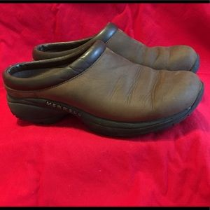Brown Merrell Slip on Loafers