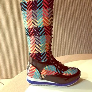 Jeffrey Campbell Handmade Ibiza last tall boot