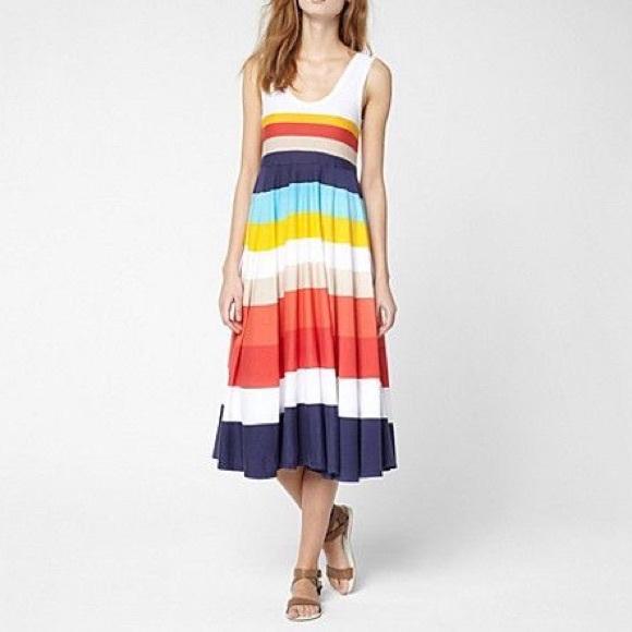 c07382ed7e93b Lacoste Dresses   Skirts - Lacoste multicolor stripe tank dress