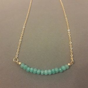 Jewelry - Dainty Stone Beaded Necklace