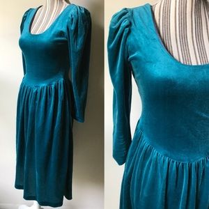 Velvet princess dress