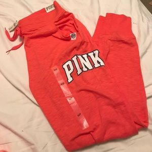NEW WITH TAGS VICTORIAS SECRET PINK Joggers