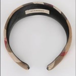 Burberry head band