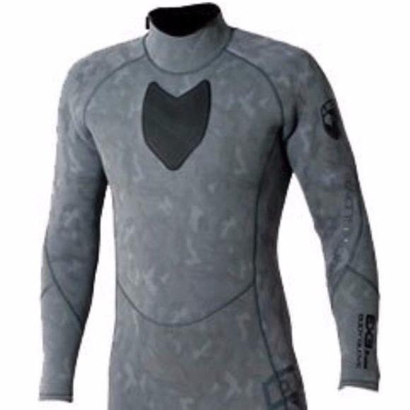 3d715b0933 Body Glove Grey Camo Full Wetsuit Free Dive Suit M