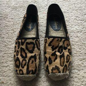 Sam Edelman Leopard Espadrilles 36