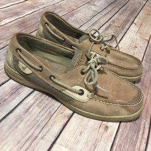 SPerry Top-Sider - Tan Classic Boat Shoes.