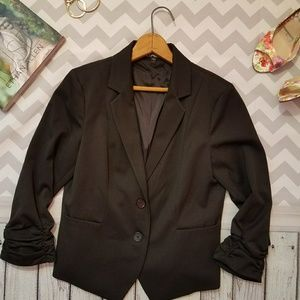 Express black blazer size 8