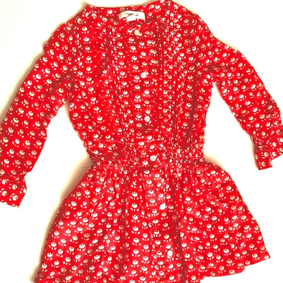 d2add815071c Country Road Other - Country Road Red Rose Shirt Dress Girls Size 2T