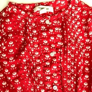 850bd025fdb8 Country Road Dresses - Country Road Red Rose Shirt Dress Girls Size 2T