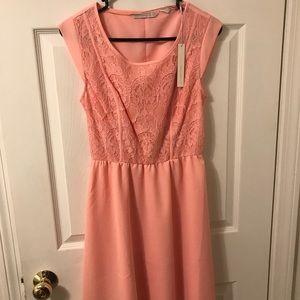 Lauren Conrad Pink Dress Size Small