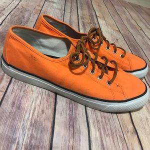 Sperry Top Sider - Orange Resort Sneaker.