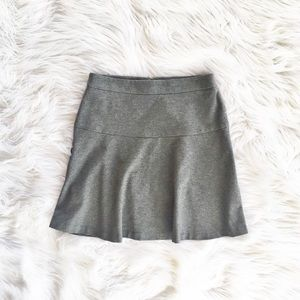 Banana Republic fit and flare knit skirt