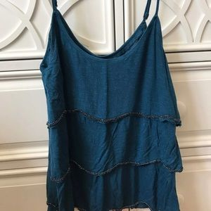 Size Small Blue Tank Top