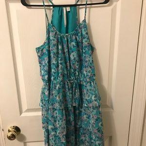 Lauren Conrad Size 4 Floral Dress Good Condition