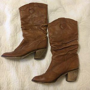 STEVE MADDEN size 8 cowboy western boots