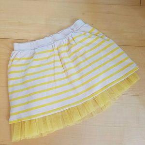 """GAP KIDS"" cotton tulle striped skirt"