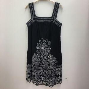 BCBGMAXAZRIA  Embroidered summer dress