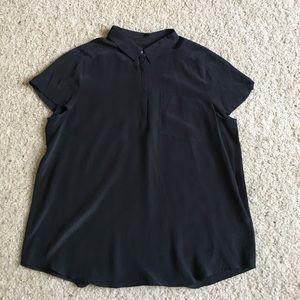 Madewell Broadway & Broome Silk Shirt Sz XS