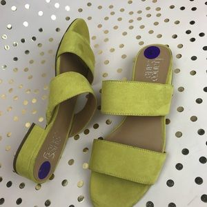 FRANCO SARTO open toed sandals size 8.5