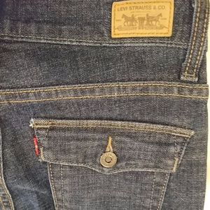 Levis 512 Perfectly Slimming Boot Cut Jeans Sz 4