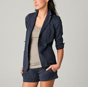 Vince Relaxed navy Blazer