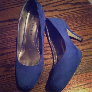 Blue Madden Girl Getta pumps