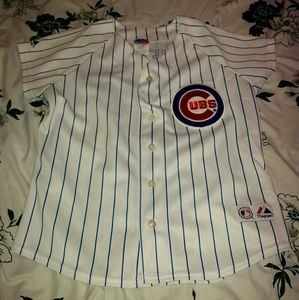 Tops - Cubs Jersey: Like New