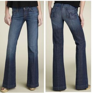Citizens of humanity dark Faye flare jeans 28x30