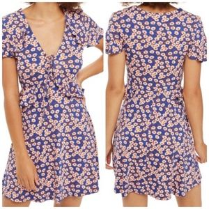 TOPSHOP DAISY PRINT DRESS