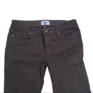 PAIGE Gray Jeans Skyline Skinny Size 32