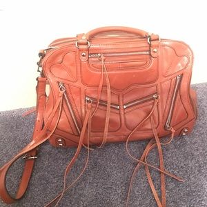 Rebecca Minkoff | Burnt Orange Satchel w/ Tassels