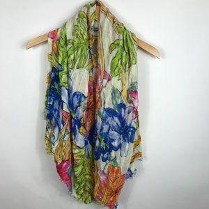 Zara accessories womens blanket scarf