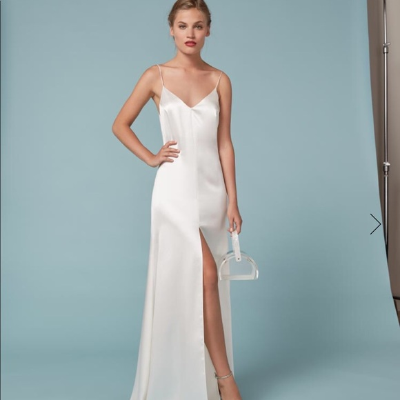 82d3d04891f5 Reformation Cabot Dress in Ivory
