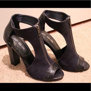 Leila Stone Lola Peep-toe Pump Heels (Never used)