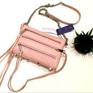 NWDFs Rebecca Minkoff Mini 5 Zip Blush Crossbody