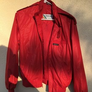 Red members only jacket