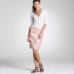 J.CREW COLLECTION Turkish Delight Pencil Skirt