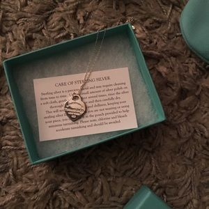 Tiffany's sterling silver pendant