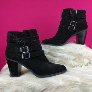Inc International Concepts black bootie  size 11